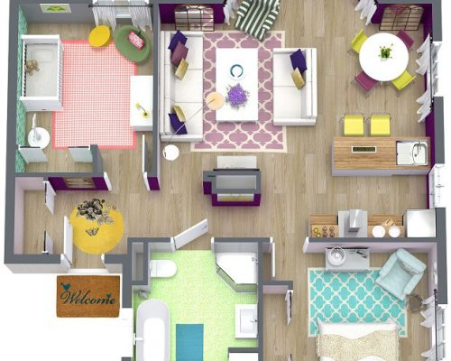 3D-Floor-and-Furniture-Plans